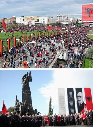 100 Jahre Albanien