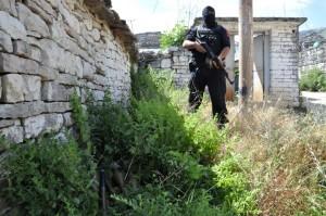 Polizei 2014 im Einsatz in Lazarat