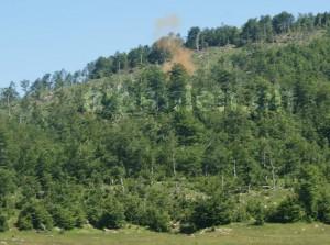 Explosion: Sprengung eines Bunkers