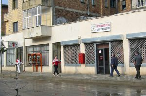 Postamt in einer Kleinstadt