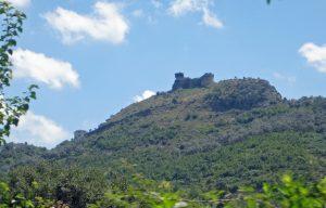 Burg von Petrela aus Skanderbegs Zeiten