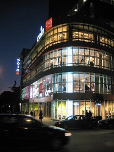Tirana: Warenhaus