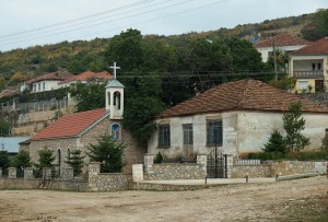Dorf Gollomboç/Globozeni, Prespasee