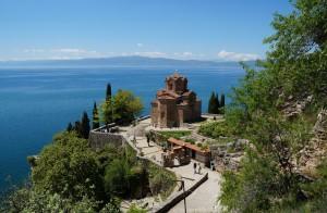 Ohrid: Kirche des Heiligen Johannes von Kaneo