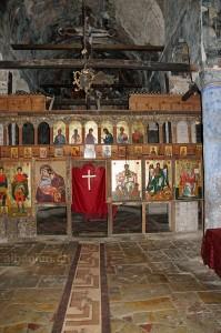 Marienkirche Voskopoja: Ikonostase