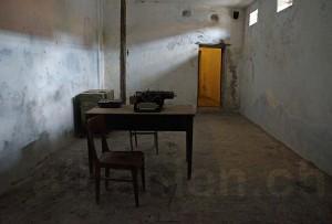 Verhörrraum im ehemaligen kommunistischen Gefängnis