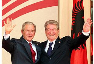 Bush und Berisha