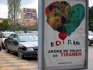 Albanien vor einer Prüfung