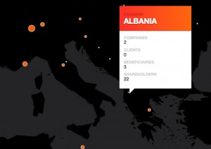 »Panama Papers«: Aktivitäten in Albanien