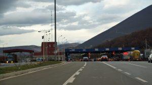 Grenzübergang Morina