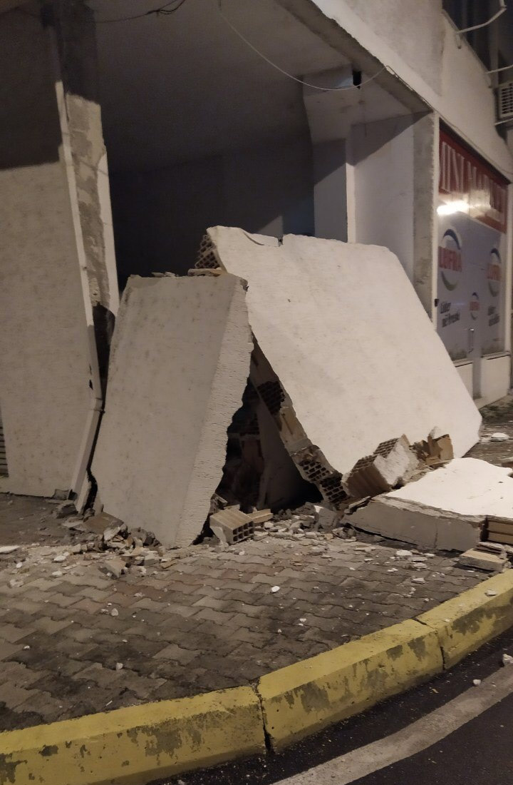 Schäden des Erdbebens vom 26. November 2019