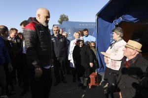 Erdbeben in Albanien: Edi Rama besucht Zeltlager