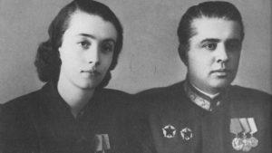 Nexhmije und Enver Hoxha