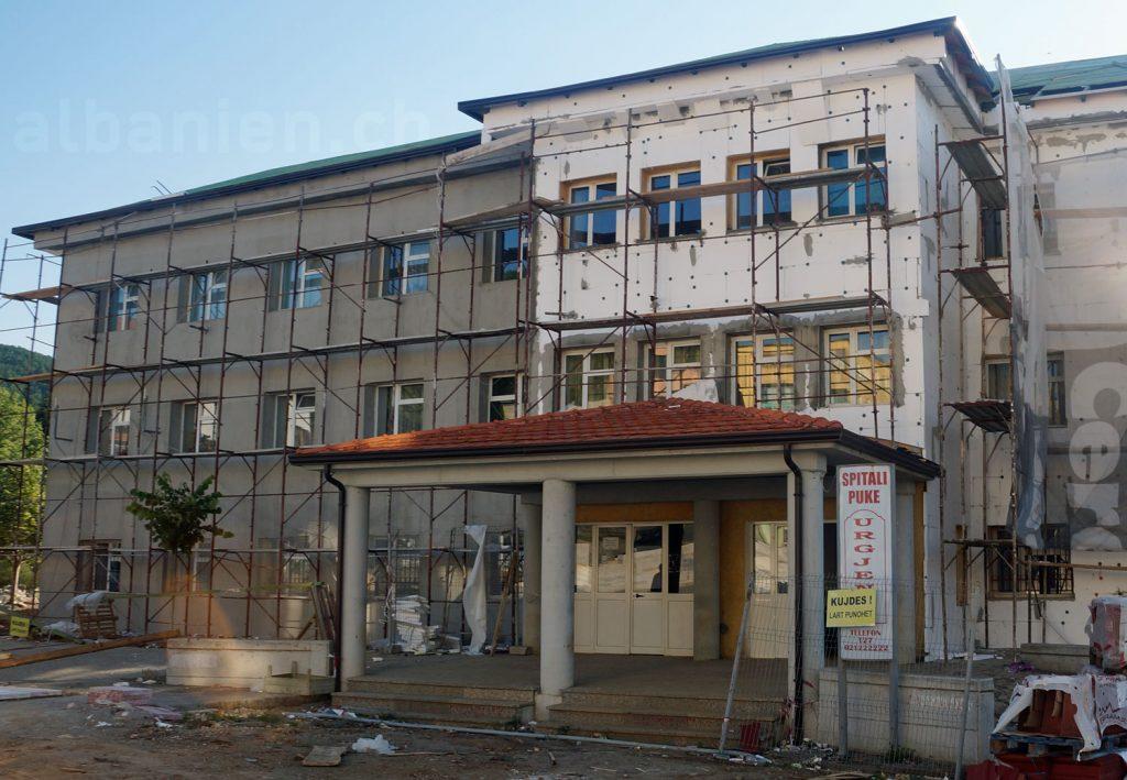 Krankenhaus Puka, Albanien