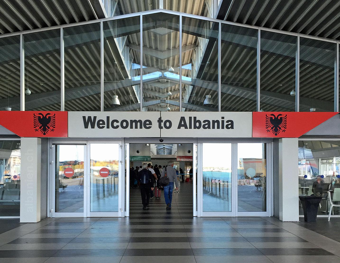 Willkommen in Albanien