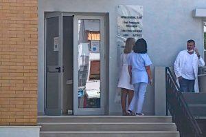 Poliklinik Vlora in Albanien während Corona-Krise Sommer 2020