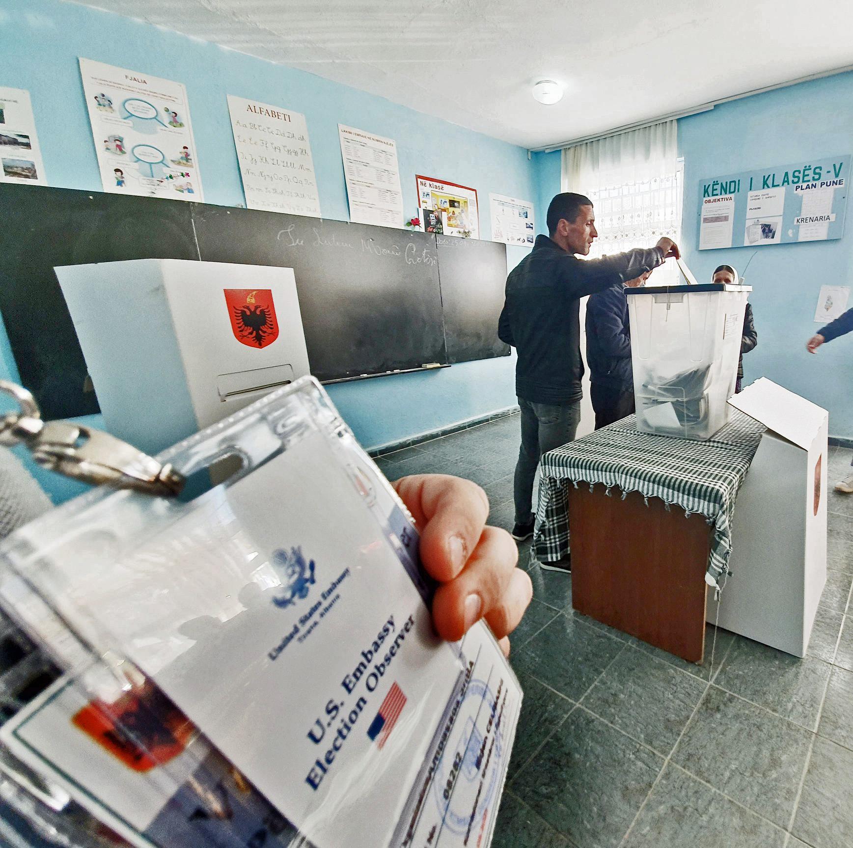Parlamentswahlen Albanien 2021: Stimmabgabe