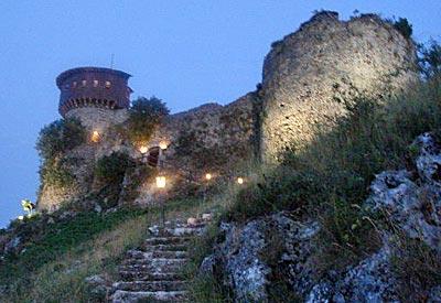 Burg Petrela, Tirana, Albanien