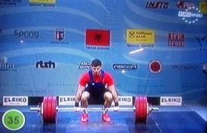 Gewichtheben-Europameisterschaften 2013 in Tirana