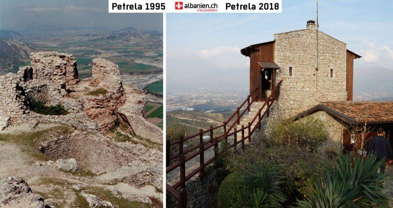 Petrela: neues Restaurant in den alten Burgmauern
