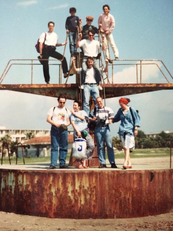 Am Strand von Durrës im Frühjahr 1994
