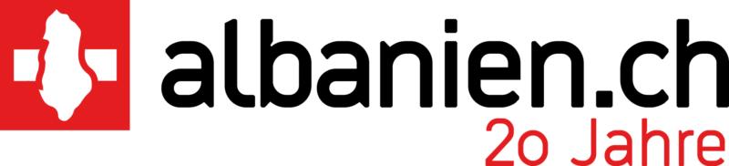 Logo albanien.ch 20 Jahre Jubiläum