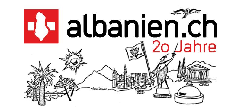 20 Jahre albanien.ch Illustration